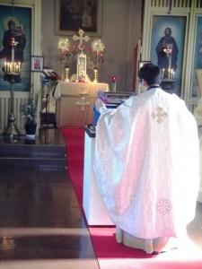 2014年神現祭大聖水式